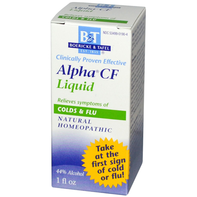 Boericke and Tafel Alpha CF Liquid - 1 fl oz: HF