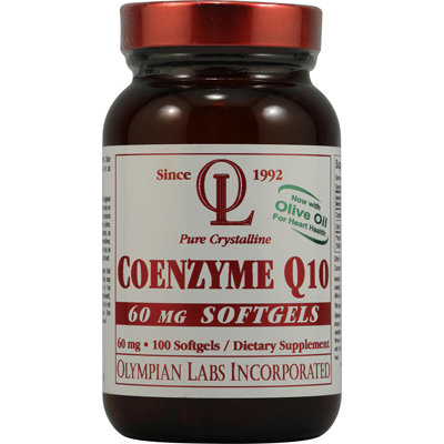 Olympian Labs Coenzyme Q10 - 60 mg - 100 Softgels: HF