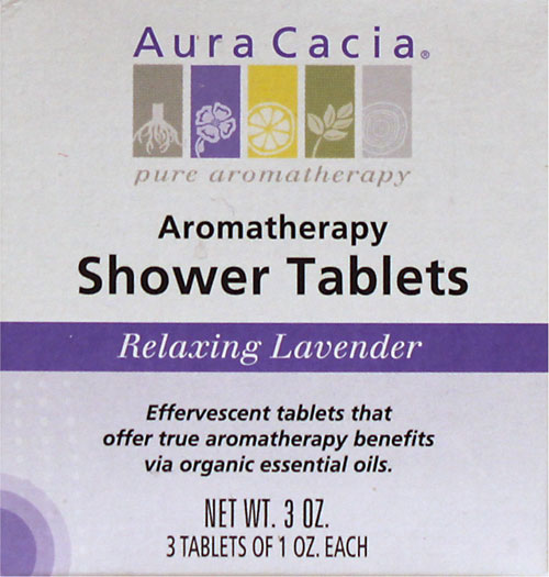 Relaxing Lavender Aromatherapy Shower Tablets 3/1 oz tablets: HF