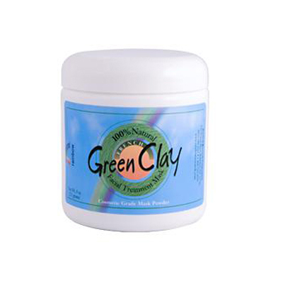 Rainbow Research French Green Clay Facial Treatment Mask - 8 oz: HF
