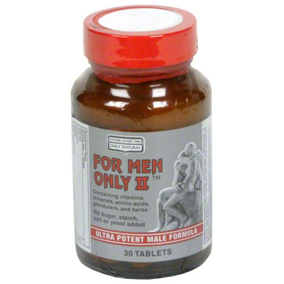 Only Natural For Men Only Ii - 30 Tablets: HF