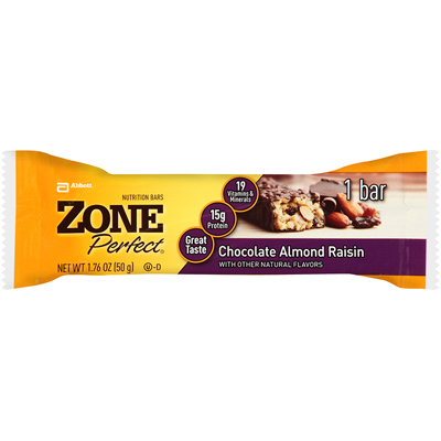 Zone Nutrition Bar - Chocolate Almond Raisin - Case of 12 - 1.76 oz: HF