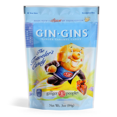 Ginger People Gingins Super Candy Bags - Case of 24 - 3 oz: HF
