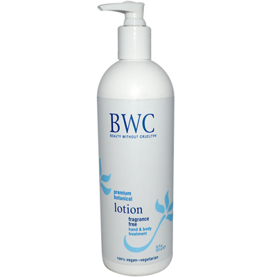 Beauty Without Cruelty Hand and Body Lotion Botanical Formula Fragrance Free - 16 fl oz: HF