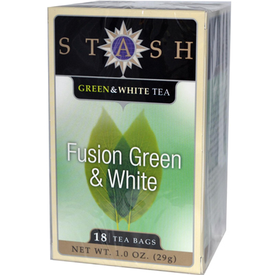 Stash Tea Green and White Fusion - 18 Tea Bags - Case of 6: HF