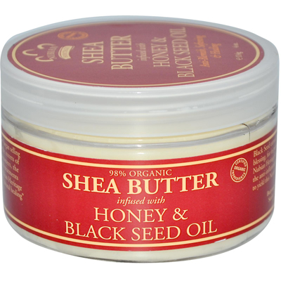 Nubian Heritage Shea Butter Infused With Honey And Black Seed Oil - 4 oz: HF