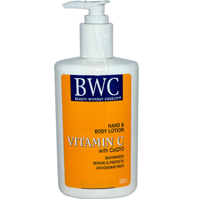 Beauty Without Cruelty Hand and Body Lotion Vitamin C Organic - 8.5 fl oz: HF