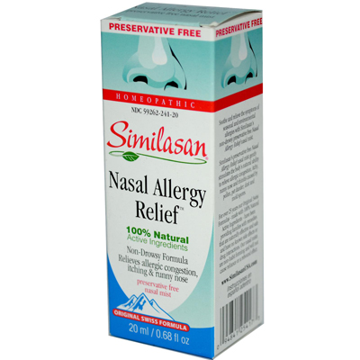 Similasan Nasal Allergy Relief - 0.68 fl oz: HF
