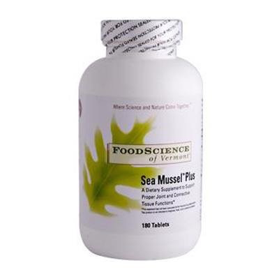 FoodScience of Vermont Sea Mussel Plus - 180 Tablets: HF