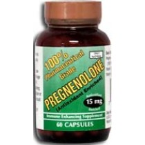 Only Natural Pregnenolone - 15 mg - 60 Capsules: HF