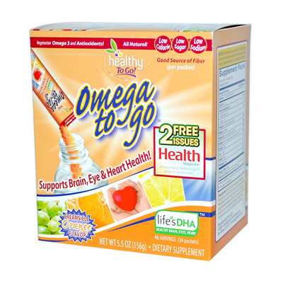 To Go Brands Omega To Go Creamsicle Orange - 24 Packets: HF