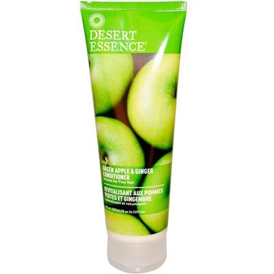 Desert Essence Thickening Conditioner Green Apple and Ginger - 8 fl oz: HF