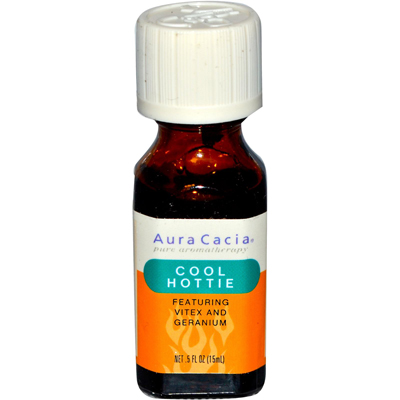 Aura Cacia Essential Solutions Oil Cool Hootie - 0.5 fl oz: HF