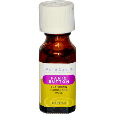 Aura Cacia Essential Solutions Oil Panic Button - 0.5 fl oz: HF
