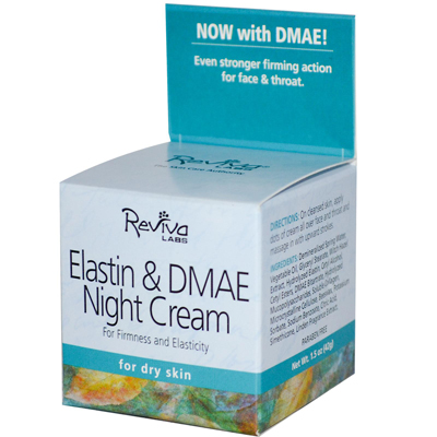 Reviva Labs Elastin and DMAE Night Cream - 1.5 oz: HF