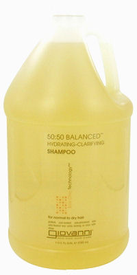 Giovanni 50:50 Balanced Shampoo Hydrating-Clarifying - 1 Gallon: HF