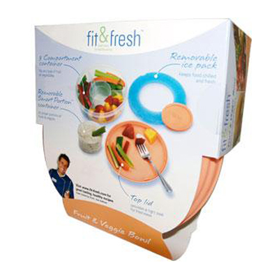 Fit and Fresh Fruit and Veggie Bowl - 1 Bowl: HF
