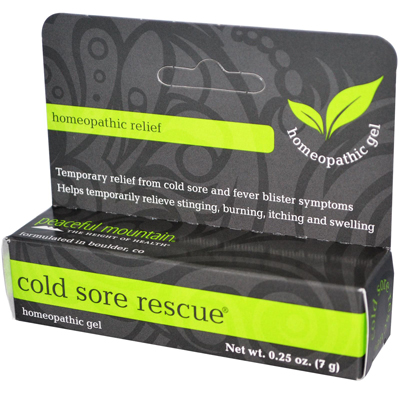 Peaceful Mountain Cold Sore Rescue - 0.27 oz: HF