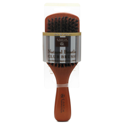 Earth Therapeutics Natural Bristle Club Brush - 1 Brush: HF