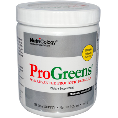 NutriCology Pro Greens With Advanced Probiotic Formula - 9.27 oz: HF