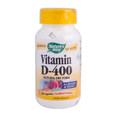 Nature's Way Vitamin D-400 - 400 IU - 100 Capsules: HF
