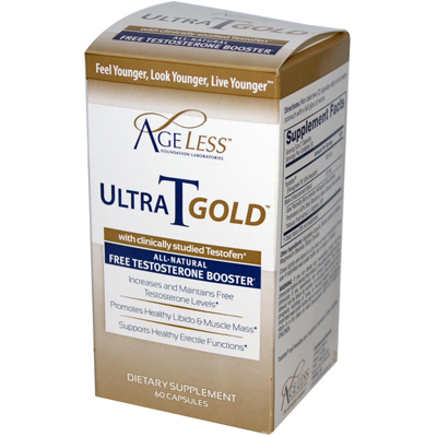 Ageless Foundation Ultra T Gold - 60 Capsules: HF