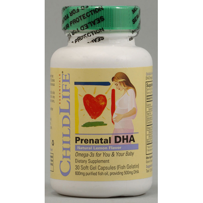 Childlife PreNatal DHA - 30 Softgels: HF