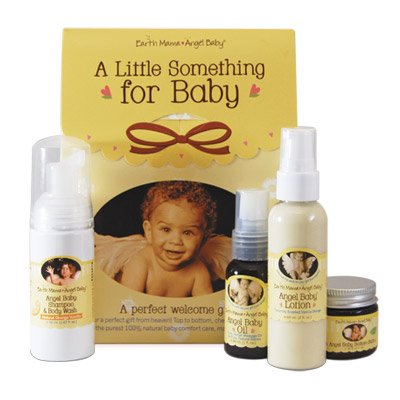 Earth Mama Angel Baby Little Something For Baby Welcoming Gift Kit: HF