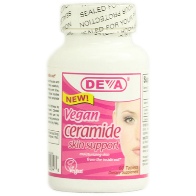 Deva Vegan Ceramide Skin Support - 60 Tablets: HF