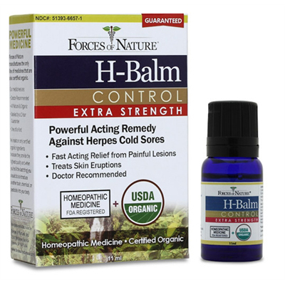 Forces of Nature Organic H-Balm Daily Control - Extra Strength - 11 ml: HF