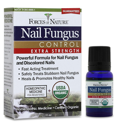 Forces of Nature Organic Nail Fungus Control - Extra Strength - 11 ml: HF
