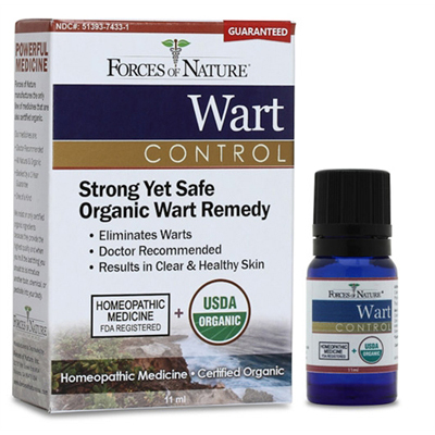 Forces of Nature Organic Wart Control - 11 ml: HF