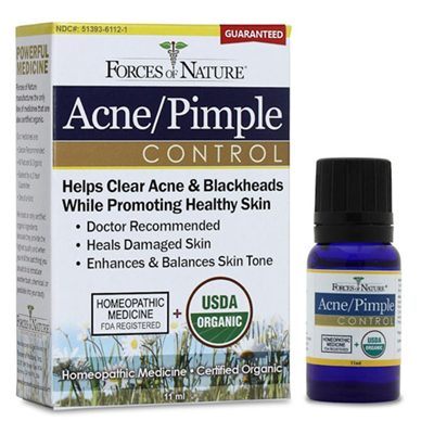 Forces of Nature Organic Acne and Pimple Control - 11 ml: HF
