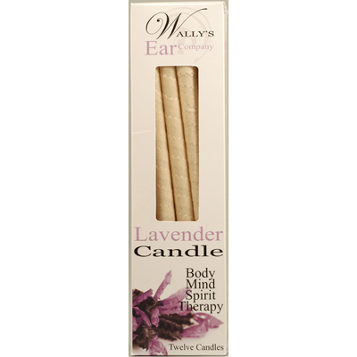 Wally's Candle - Lavender - 12 Candles: HF