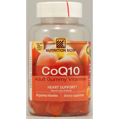 Nutrition Now CoQ10 Adult Gummy Vitamin - 60 Gummy Vitamins: HF