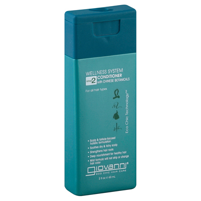 Giovanni Hair Care Products Conditioner Wellness System - Travel Size - 2 oz: HF