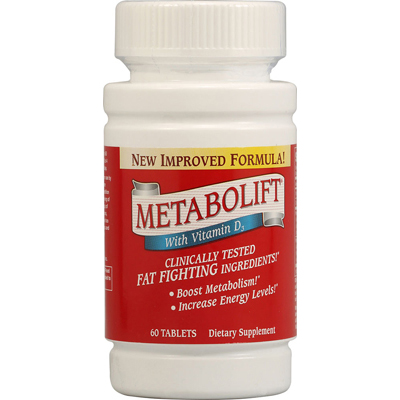 Twinlab Metabolift with Vitamin D3 - 60 Tablets: HF