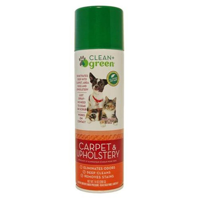Clean and Green Pet Stain and Odor Remover for Carpet - 14 oz: HF
