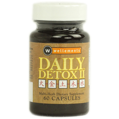 Wellements Daily Detox II Multi Herb - 60 Capsules: HF