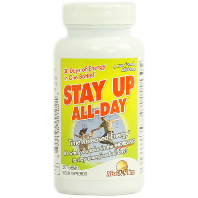 Rise-N-Shine Stay Up All Day - 30 Tablets: HF