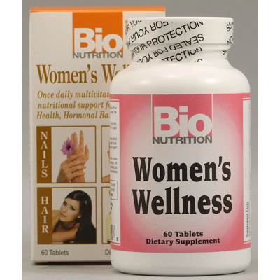 Bio Nutrition Women's Wellness - 60 Tablets: HF