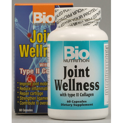 Bio Nutrition Joint Wellness - 60 Capsules: HF