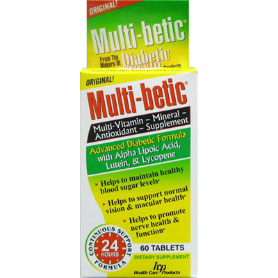 Health Care Products Multi-Betic - 60 Tablets: HF