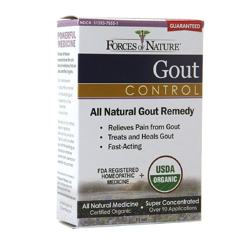 Forces of Nature Organic Gout Control - 11 ml: HF