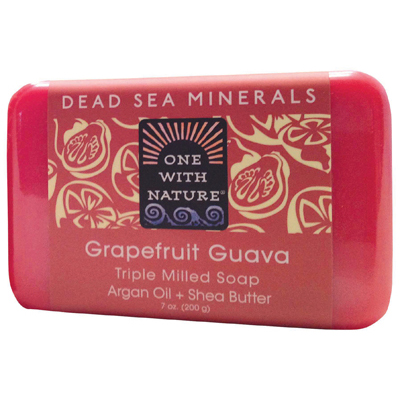 One With Nature Triple Milled Soap Bar - Grapefruit Guava - 7 oz: HF