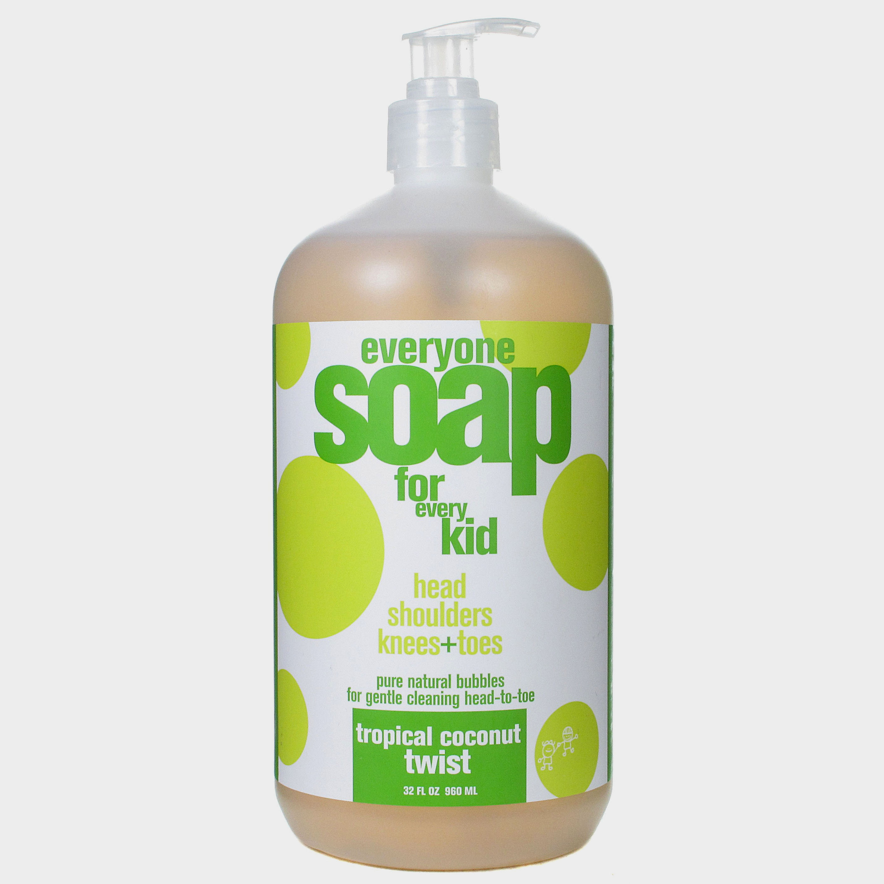 EO Products Everyone Soap for Kids - Tropical Coconut Twist - 32 oz: HF