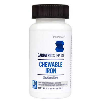 Twinlab Bariatric Support Iron - 60 Tablets: HF