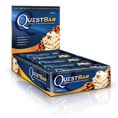 Quest Nutrition Bar - Peanut Butter and Jelly - Case of 12 - 2.12 oz: HF
