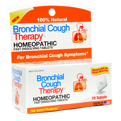 TRP Bronchial Cough Therapy - 70 Tablets: HF