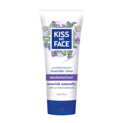Kiss My Face Moisturizer - Lavender and Shea Butter - 6 oz: HF